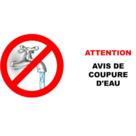 Attention : Coupure d'eau Apprieu-Colombe / Nuit du mardi 21 janvier